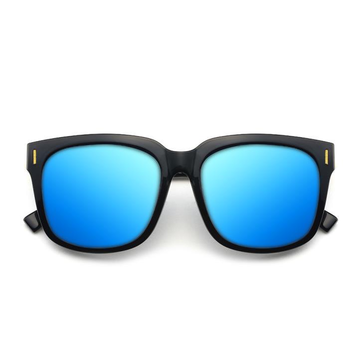 HAN时尚偏光太阳镜HD5809-S07 黑框蓝色片