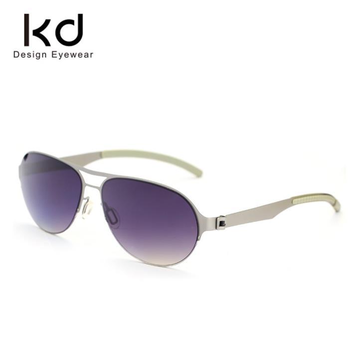 KD时尚太阳眼镜KD1417-S09  银色