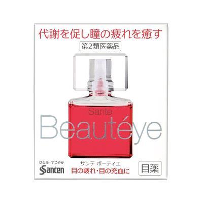 日本SANTEN参天Beautyeye玫瑰眼药水12ml/瓶