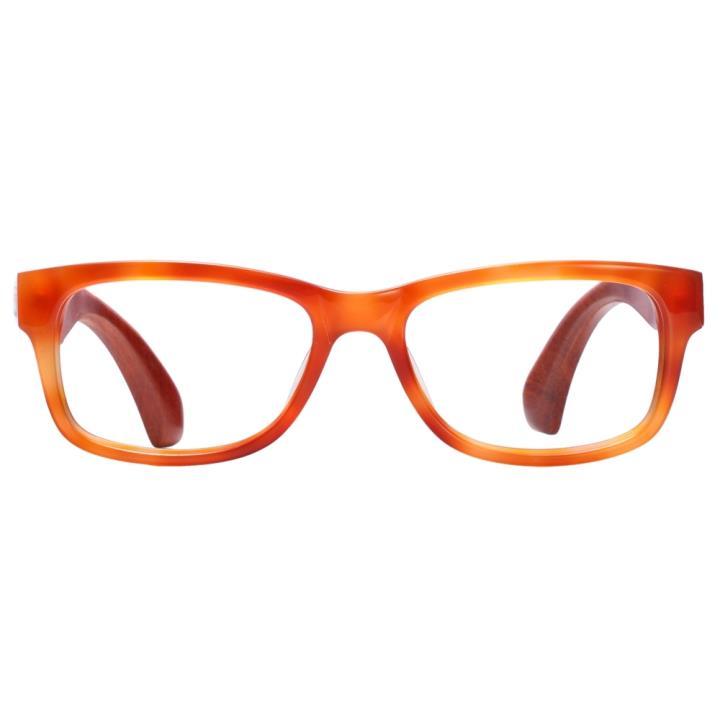 KD设计师手制板材木质眼镜5006 棕色