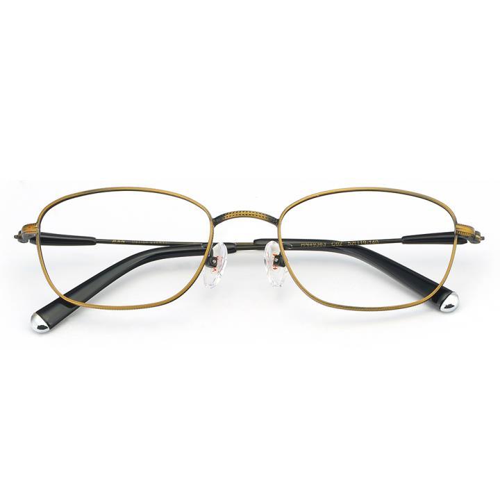 HAN合金光学眼镜架-质感铜咖(HN49363-C02)