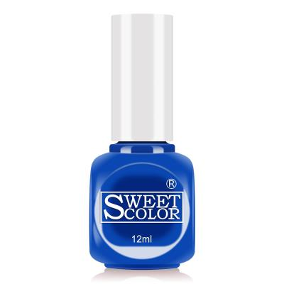 sweetcolor水性甲油胶指甲油12ML 宝蓝色COA17