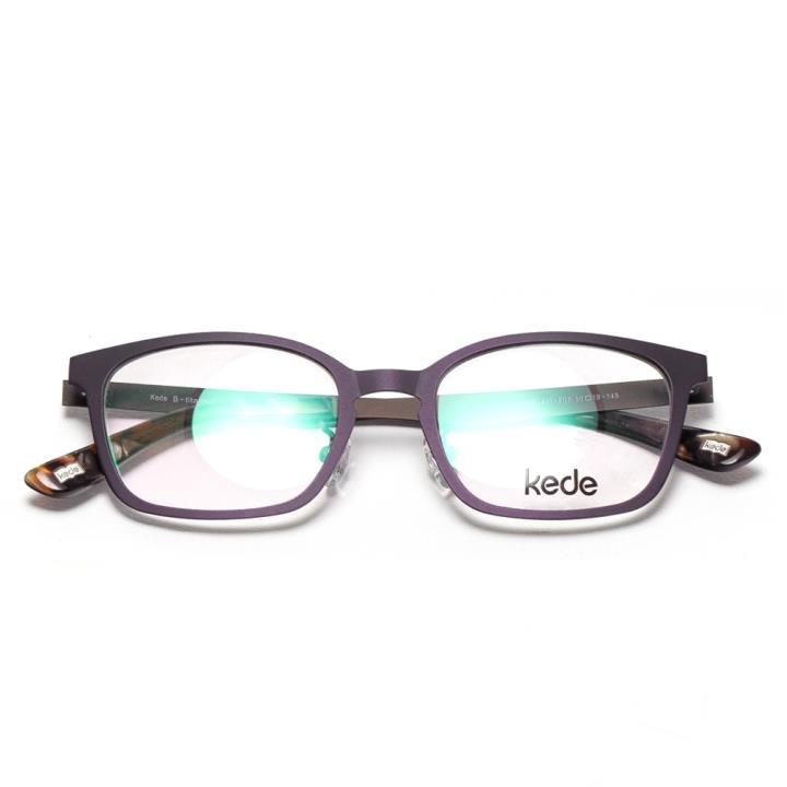 Kede时尚光学眼镜架Ke1411-F07 紫色