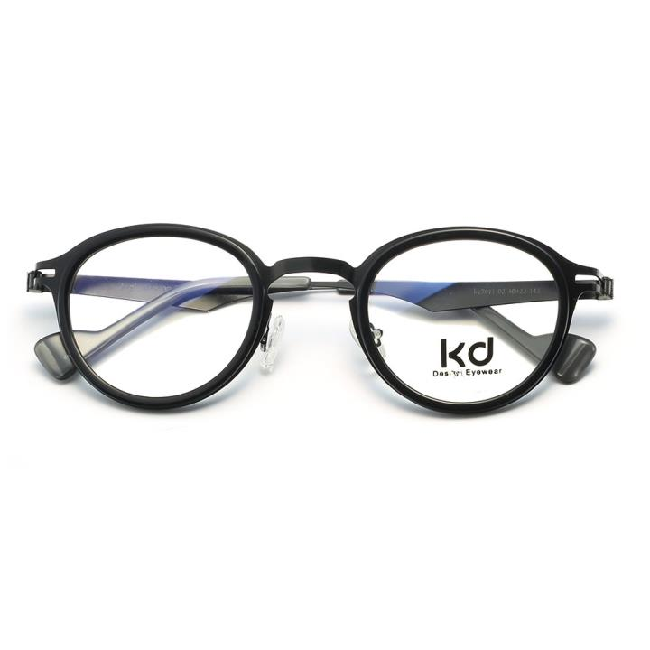 KD设计师金属眼镜kc7011-C02