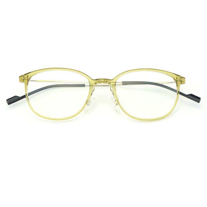 HAN时尚光学眼镜架HD3506-F04 黄绿色