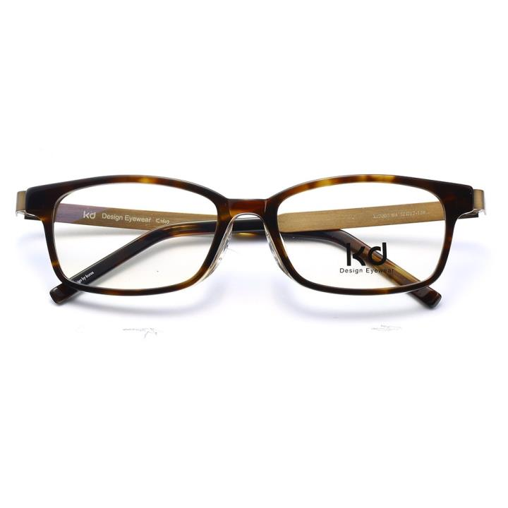 KD设计师手制板材金属眼镜kc7009-C04
