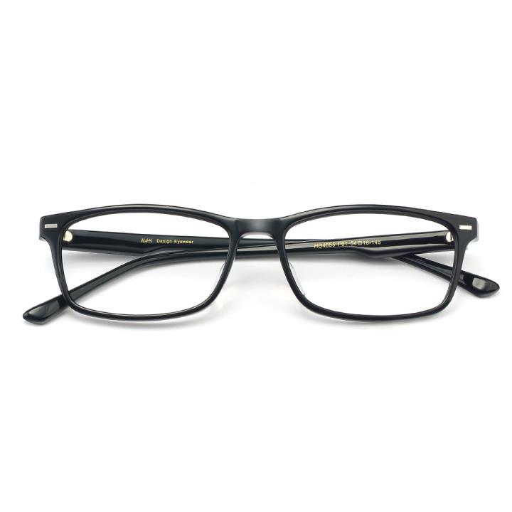 HAN板材光学眼镜架-经典纯黑(HD4955-F01)