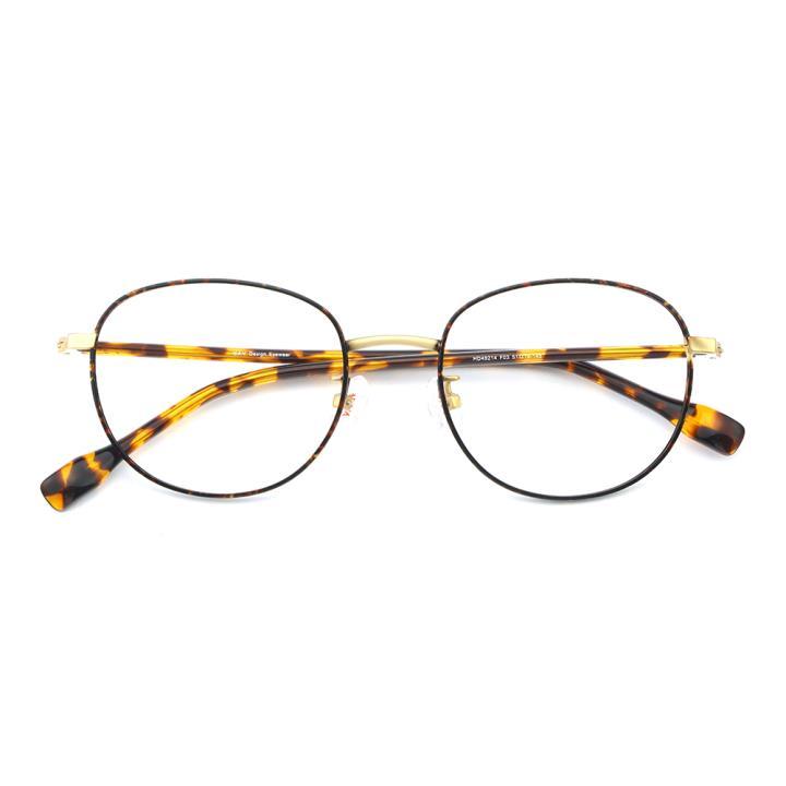 HAN不锈钢光学眼镜架-时尚玳瑁(HD49214-F03)