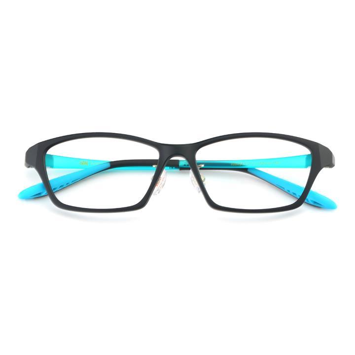 HAN TR光学眼镜架-哑黑(HN49413-C3)(配灰偏光镜套)