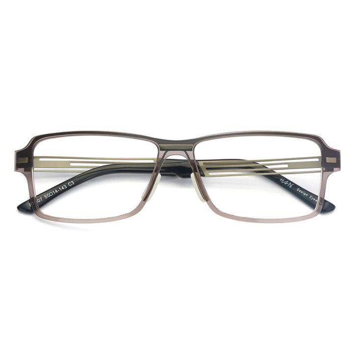 HAN尼龙不锈钢光学眼镜架-低调枪灰(B1007-C3)