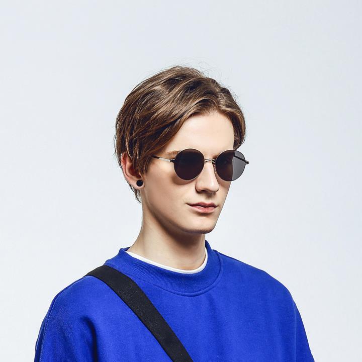 HAN RAZR-X9不锈钢防UV太阳眼镜-银框灰色片(HD59206-S09)