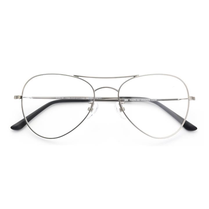 HAN RAZR-X9不锈钢太阳眼镜架-枪框(HN52005 C4/M)可配近视镜片