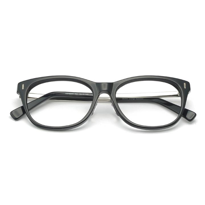 HAN板材光学眼镜架-亮黑色(HD49309-F01)