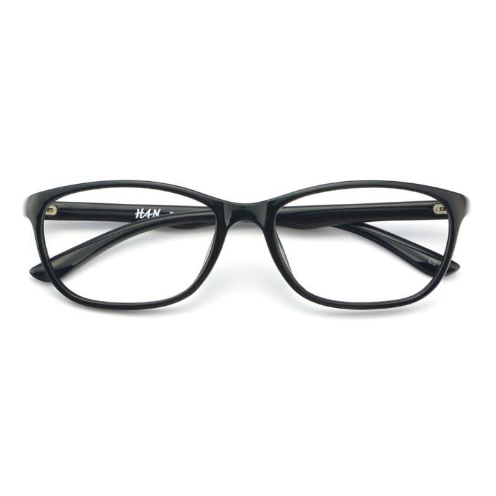 HAN MEGA-TR钛塑光学眼镜架-经典纯黑(8806-C5)