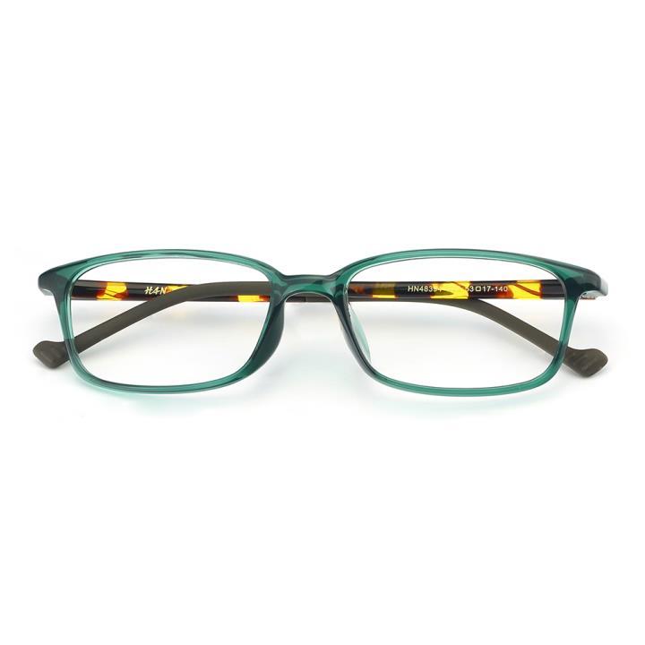 HAN MEGA-TR钛塑光学眼镜架-绿色(HN48394-C03)