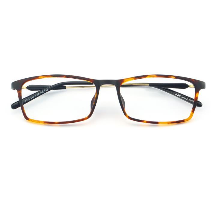 HAN MEGA-TR钛塑光学眼镜架-复古玳瑁(3331-C4)