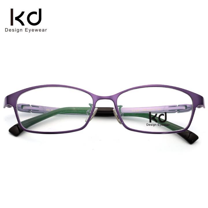 KD时尚光学眼镜架KD1907-F08紫