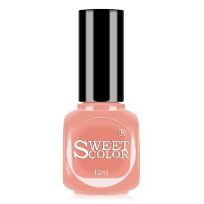 sweetcolor微光疗指甲油12ML 豆沙红B01