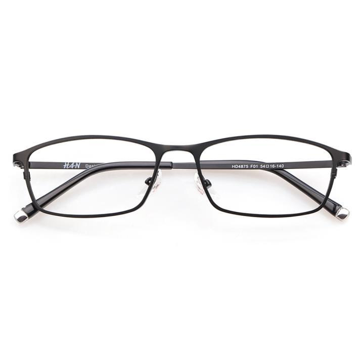 HAN时尚光学眼镜架HD4875-F01 经典纯黑