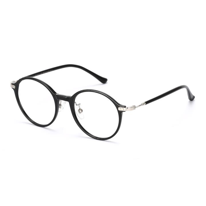 HAN COLLECTION光学眼镜架HN42112M C1亮黑