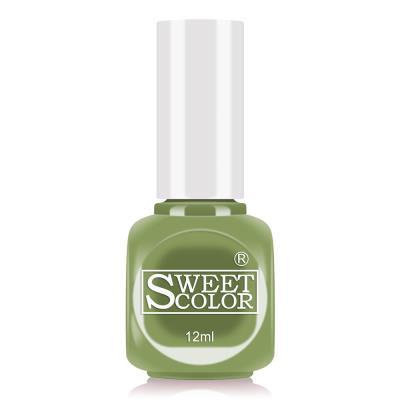 sweetcolor水性甲油胶指甲油12ML草绿色 COA11