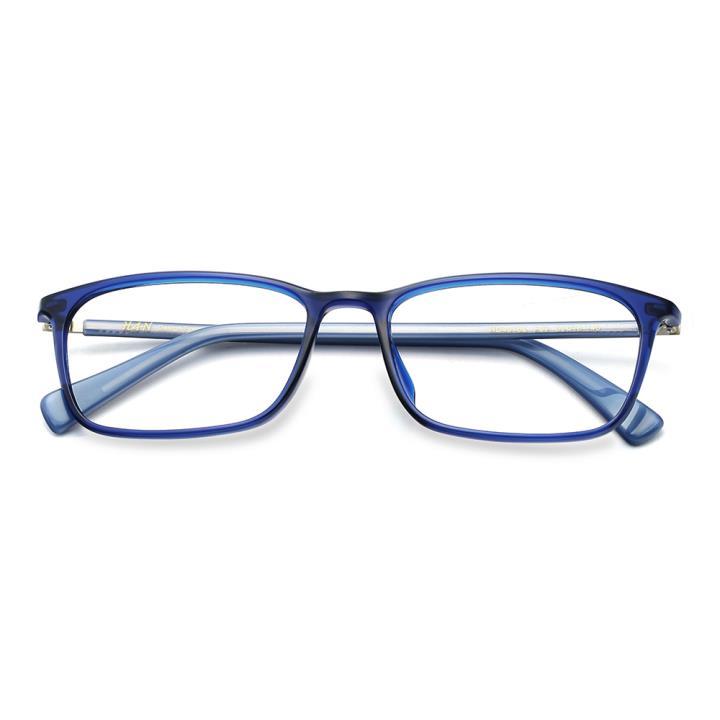 HAN TR板材光学眼镜架-时尚亮蓝(HD49152-F07)