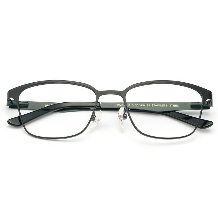 HAN时尚光学眼镜架HD4839-F16 黑色灰框