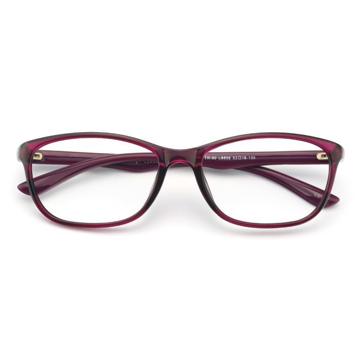 HAN MEGA-TR钛塑光学眼镜架-秀雅深紫(8806-C6)