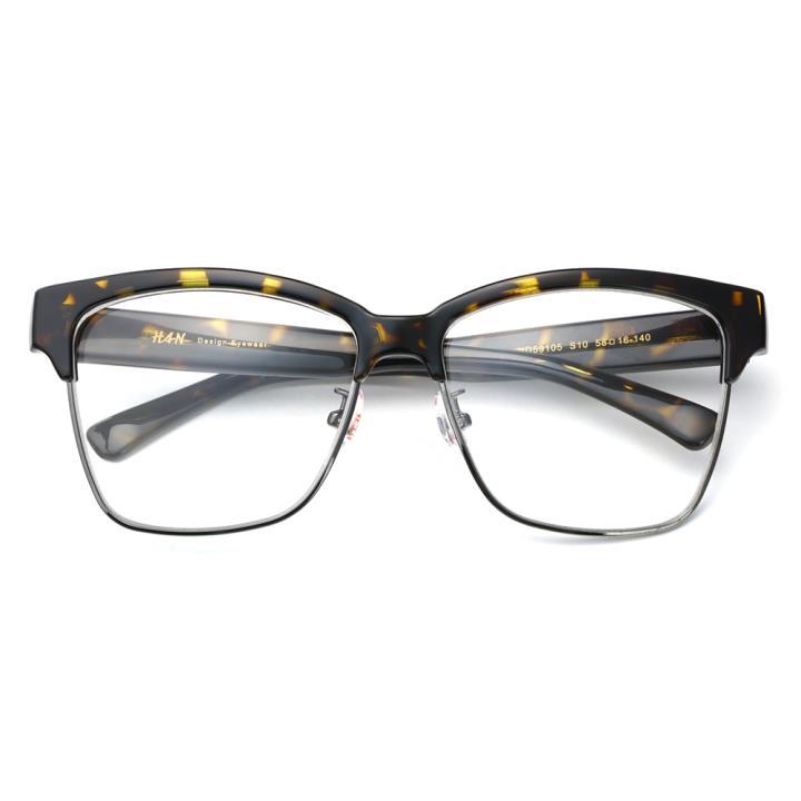 HAN时尚光学眼镜架HD59105-S10 玳瑁框