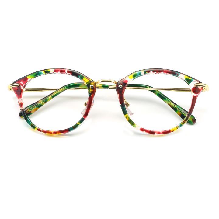 HAN MEGA-TR钛塑光学眼镜架-花玳瑁(HD49168-C3 )