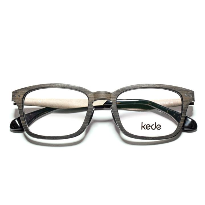 KD时尚光学眼镜架KD1520-F16  黑灰色