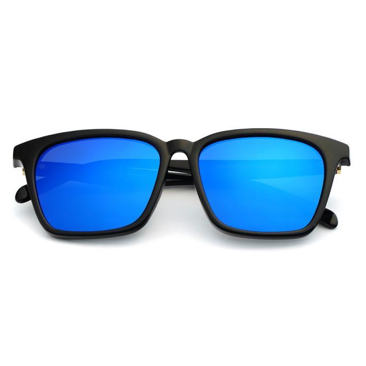 HAN时尚偏光太阳镜HD5812-S07 黑框蓝色片