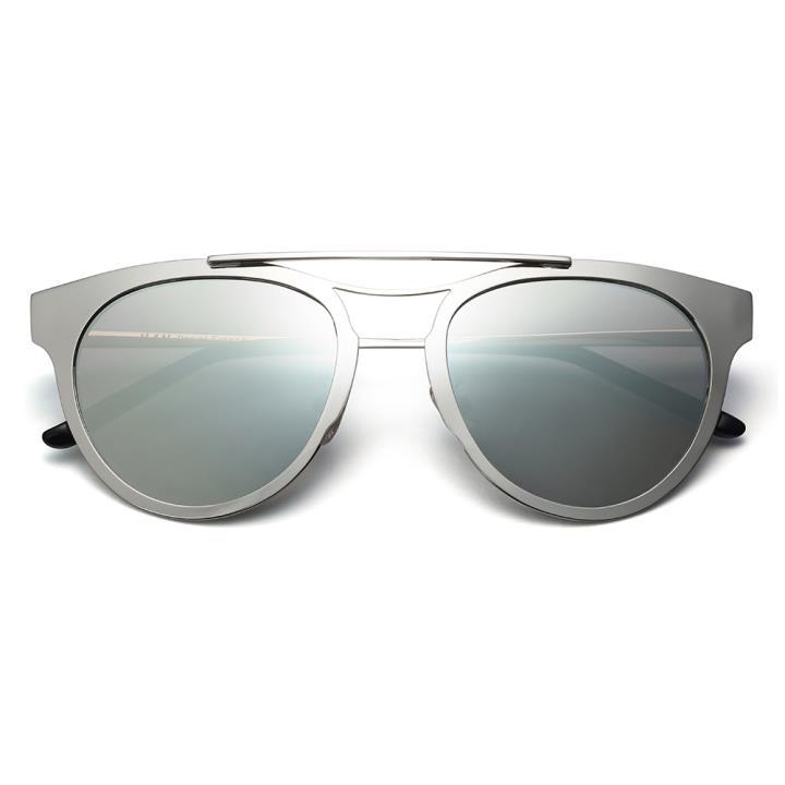HAN RAZR-X9防UV太阳眼镜-银框银色片(HD59207-S17)