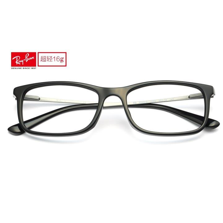RAY BAN雷朋板材眼镜架-亮黑色(0RX5342D 2000 55 )