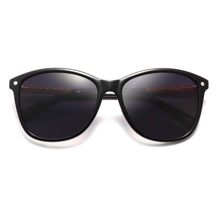HAN时尚偏光太阳镜HDX5802-S01 黑框黑色片