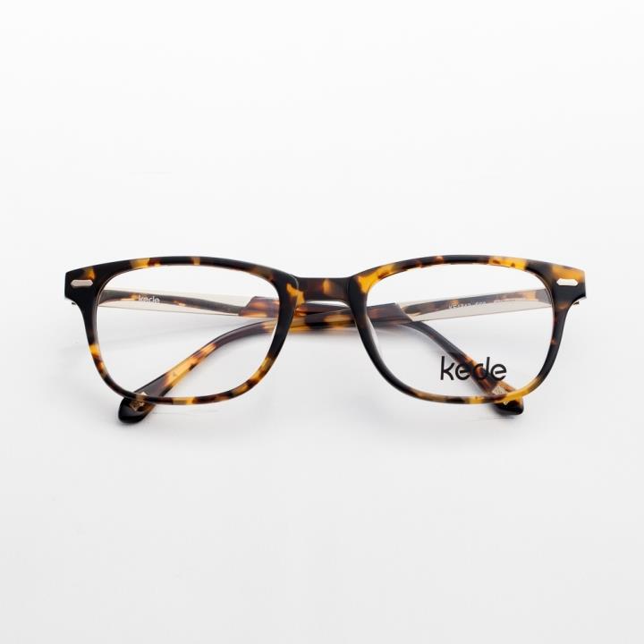 Kede時尚光學眼鏡架Ke1442-F03  玳瑁色