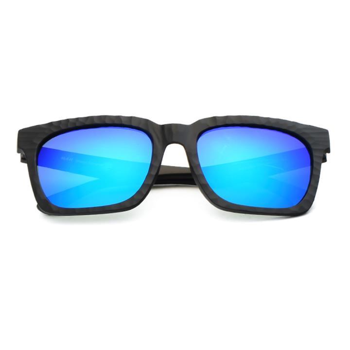 HAN时尚偏光太阳镜HD59306-S07 黑框蓝色片