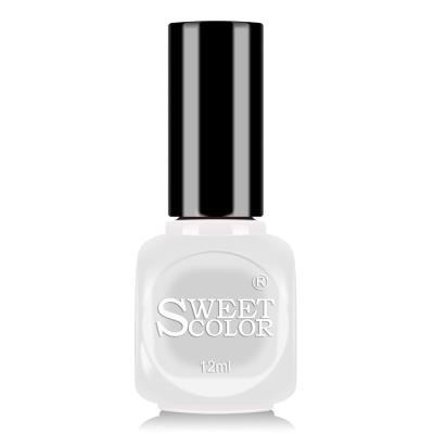 sweetcolor微光疗指甲油12ML纯白色 S016