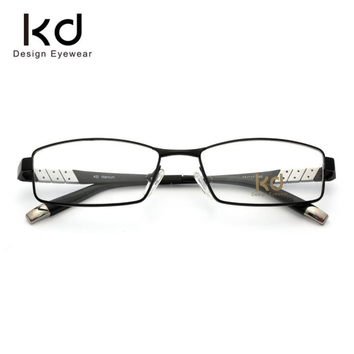 KD时尚光学眼镜架KD72001-C1 哑黑