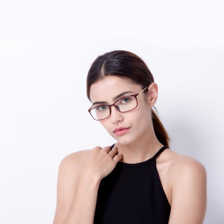 HAN TR板材光学眼镜架-复古玳瑁(HD49157-F03)