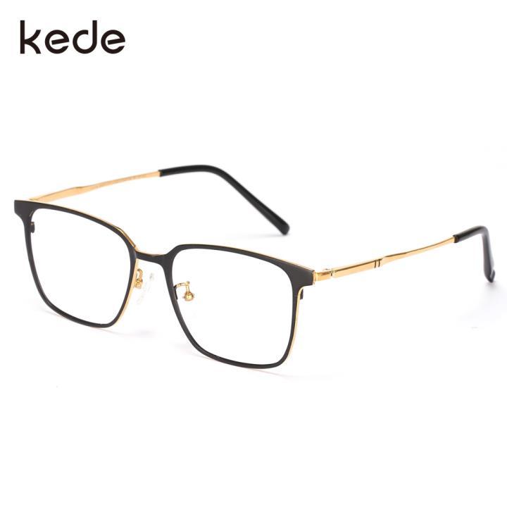 HAN kede联名款光学眼镜架HN42099M C1 黑金