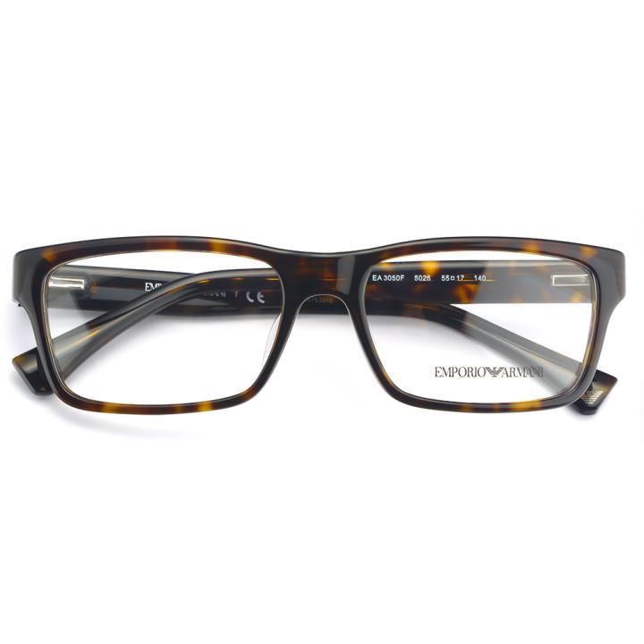 EMPORIO ARMANI板材框架眼镜0EA3050F 5026 55 玳瑁
