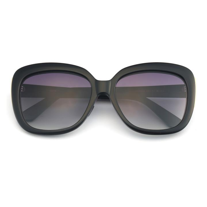 HAN板材偏光太阳镜-黑框渐进黑片(HD5833-S01)