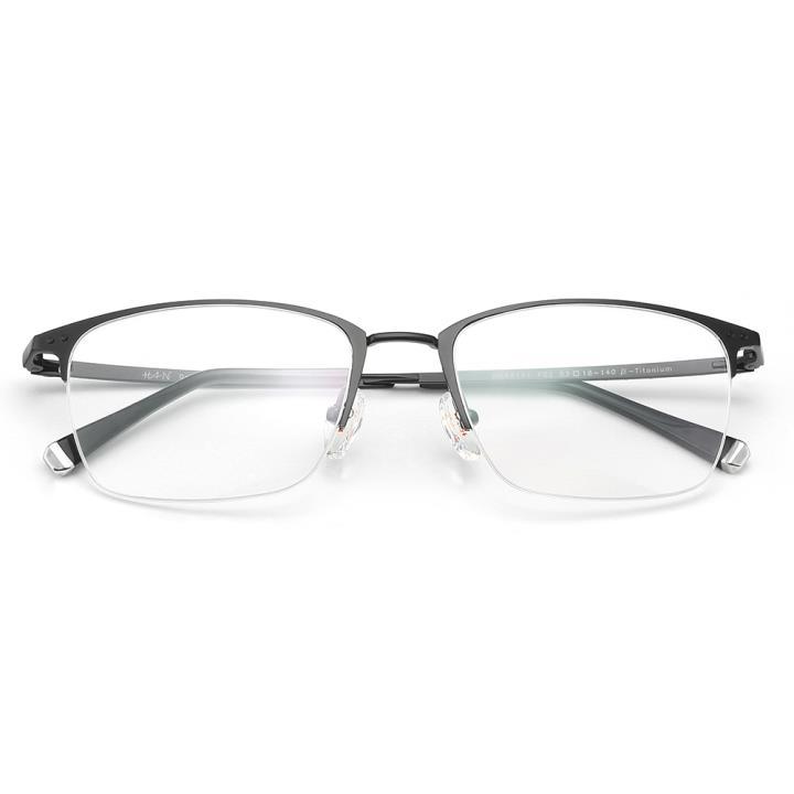 HAN纯钛光学眼镜架-哑黑色(HD49141-F09)