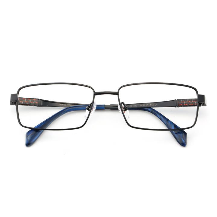 HAN时尚光学眼镜架J81552-C4经典纯黑