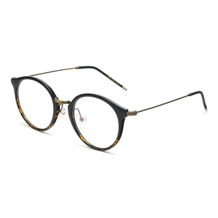 HAN MEGA-TR钛塑光学眼镜架-黑渐进黄(HD49167-C1)