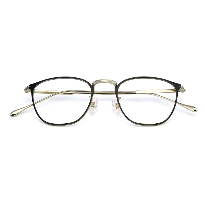 HAN纯钛光学眼镜架-经典黑(HD49318-F01)