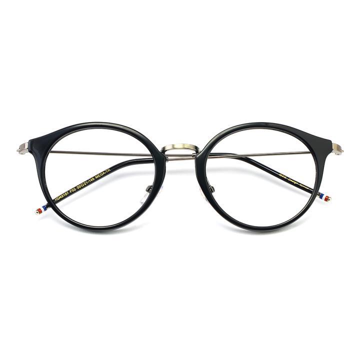 HAN MEGA-TR钛塑光学眼镜架-亮黑色(HD49167-C2)