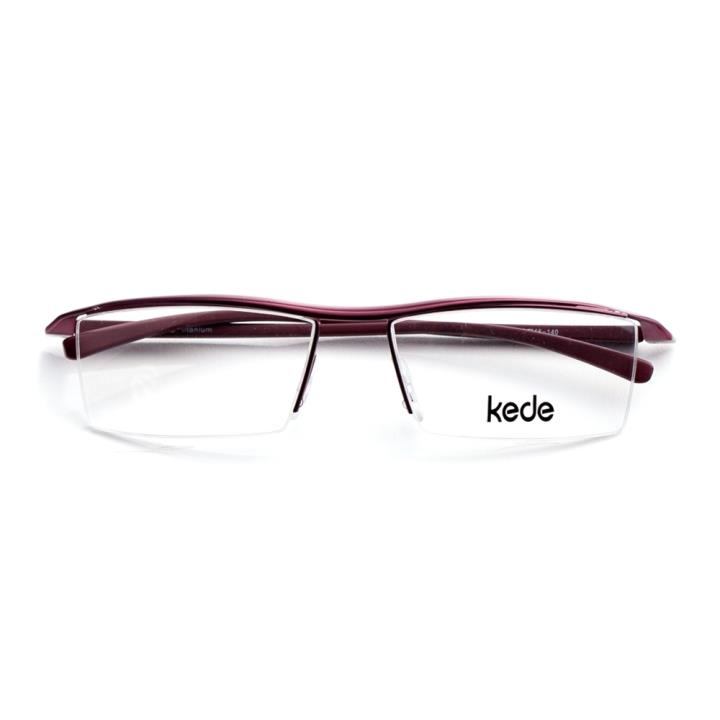 Kede时尚光学眼镜架Ke1421-F06  红色