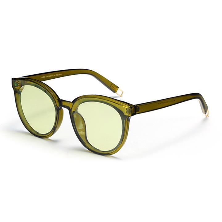 HAN SUNGLASSES防UV太阳眼镜HN52031M C6 绿框墨绿片